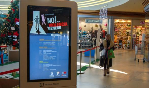 publicidad centro comercial